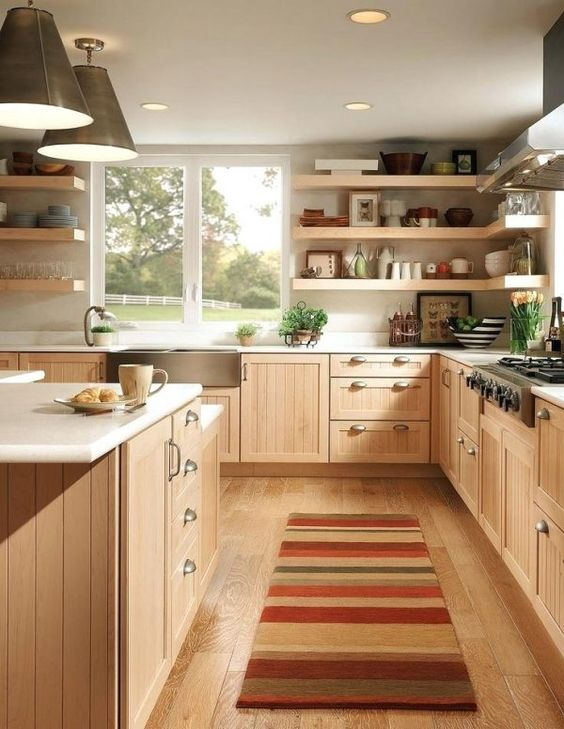Wood Kitchen Ideas: Stylish Farmhouse Decor