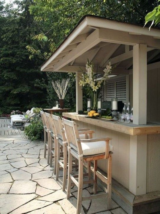 Backyard Bar Ideas: Gorgeous Coastal Design