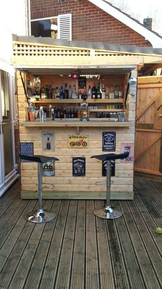 backyard bar ideas 16