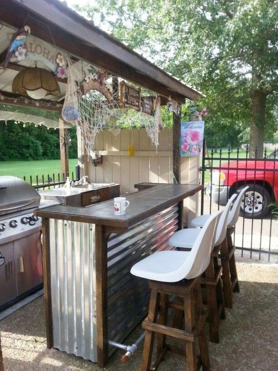 Backyard Bar Ideas: Creative DIY Design