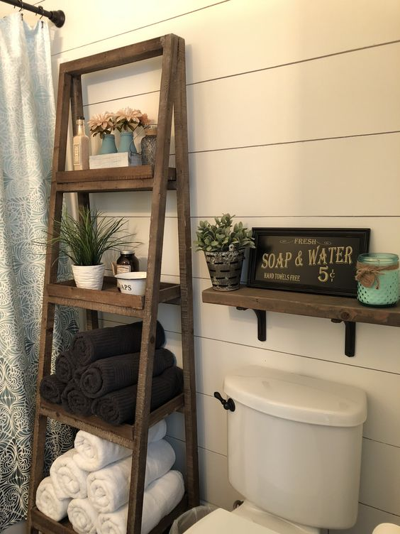 diy bathroom organizations 18