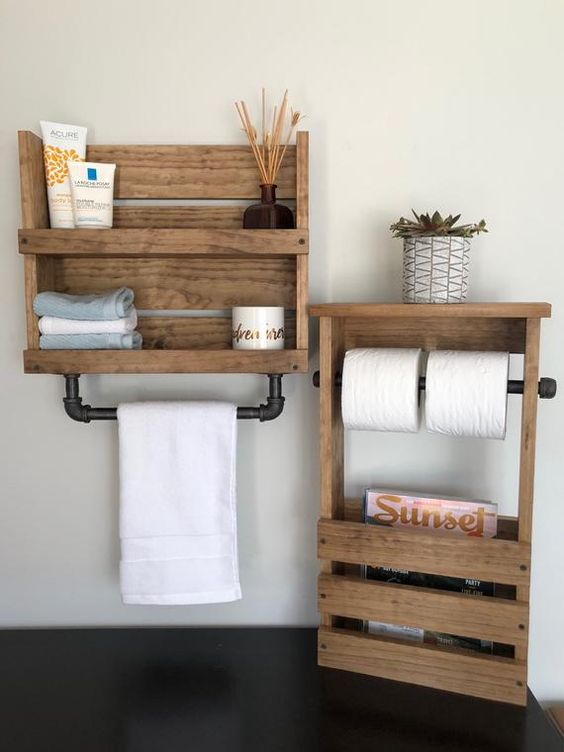 diy bathroom organizations 19