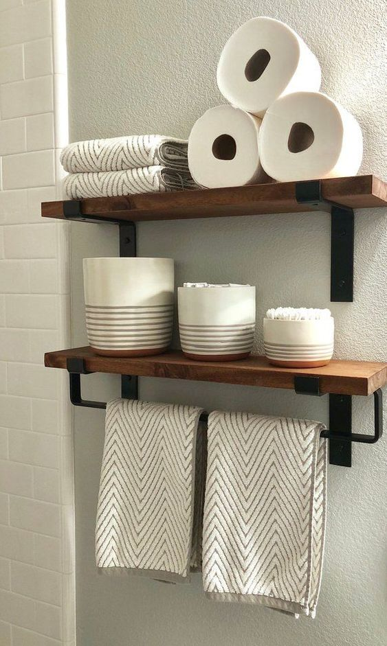 diy bathroom organizations 9