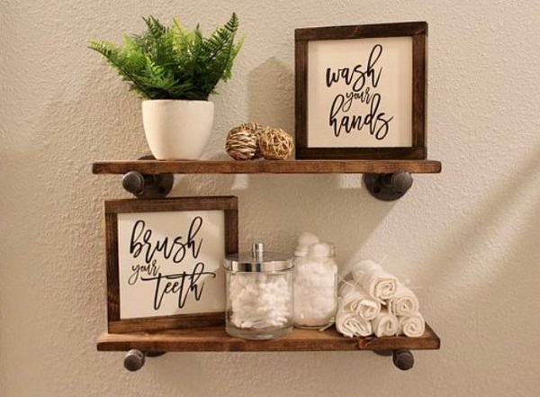 diy bathroom organizations feature