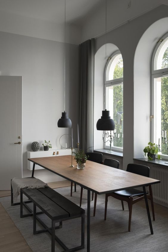 elegant dining room 19
