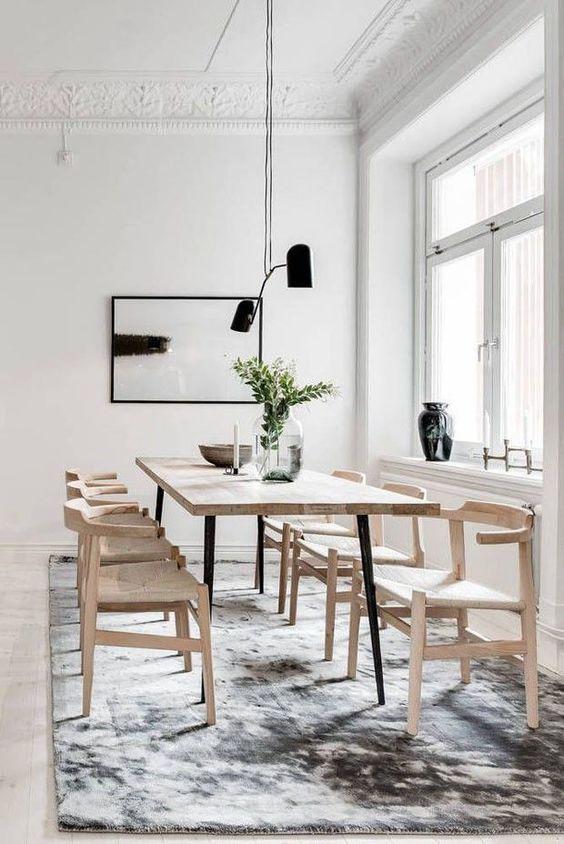 Elegant Dining Room: Gorgeous Rustic Decor