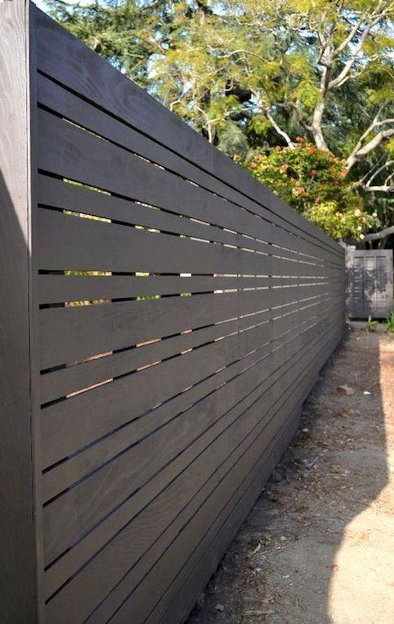 Horizontal Fence Ideas: Simple Elegant Design