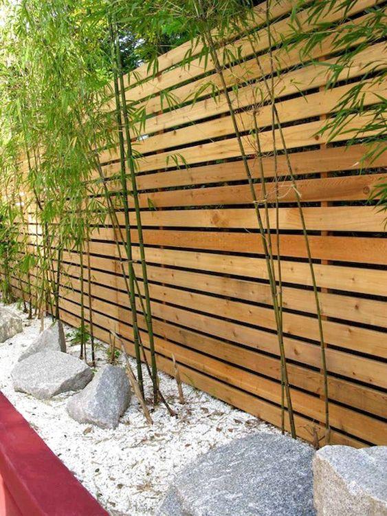 horizontal fence ideas 10
