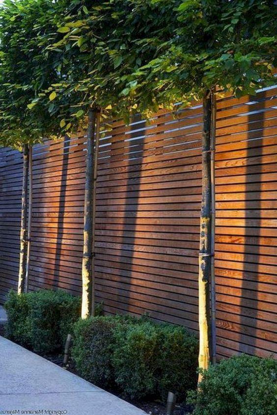 horizontal fence ideas 12