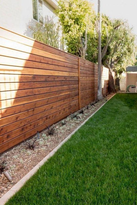 horizontal fence ideas 15