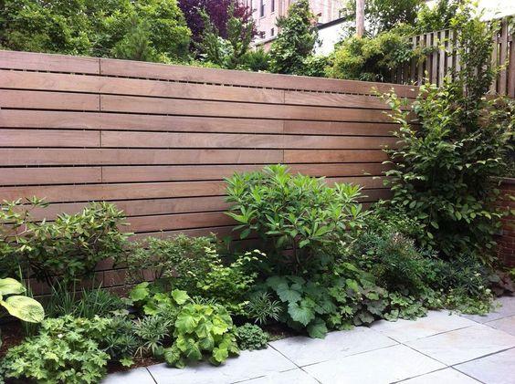 horizontal fence ideas 20