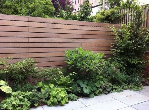 horizontal fence ideas feature