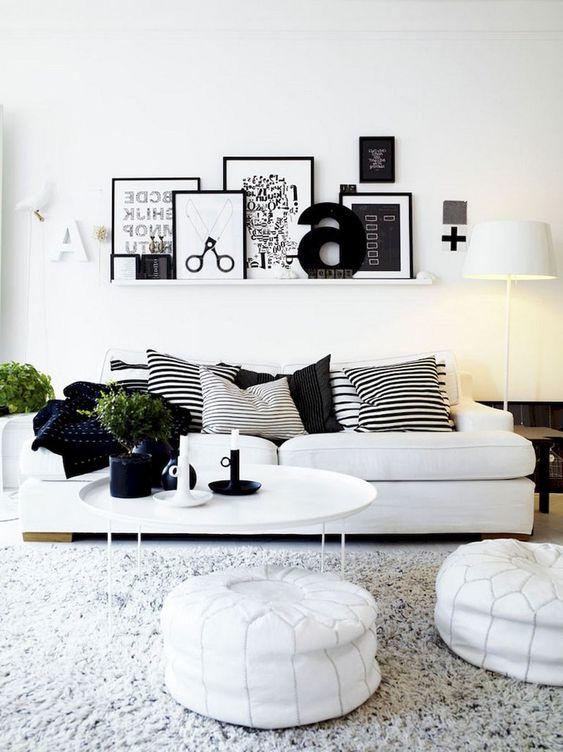 White Living Room Ideas: Stylish Monochrome Decor