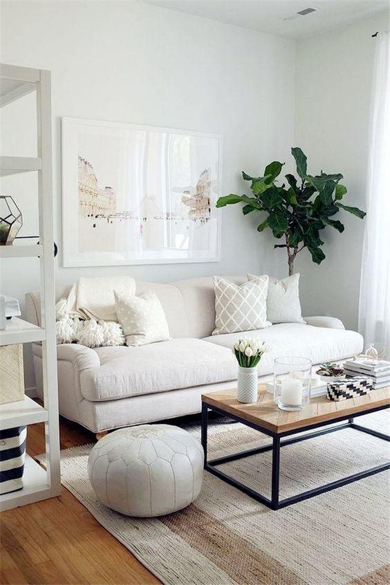White Living Room Ideas: Cozy Small Decor