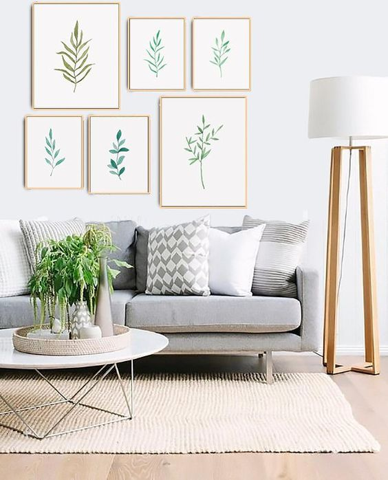 White Living Room Ideas: Chic Earthy Decor