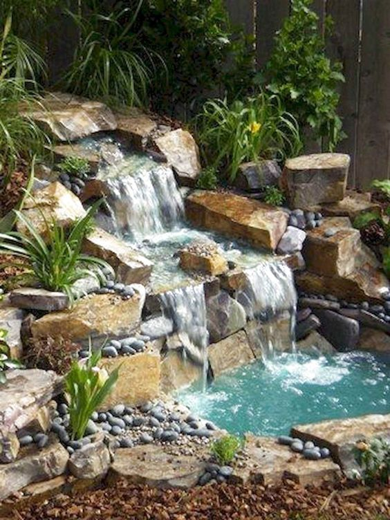 Backyard Pond Ideas 14