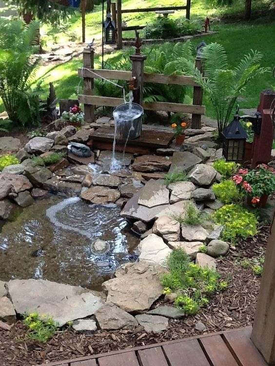 Backyard Pond Ideas 17