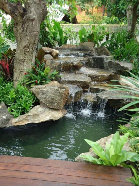 Backyard Pond Ideas 18