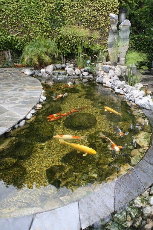 Backyard Pond Ideas 19
