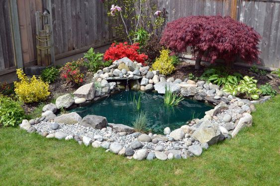 Backyard Pond Ideas 20