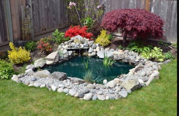 Backyard Pond Ideas feature
