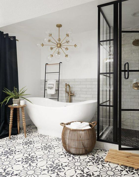 Bathroom Design Ideas: Catchy Boho Decor