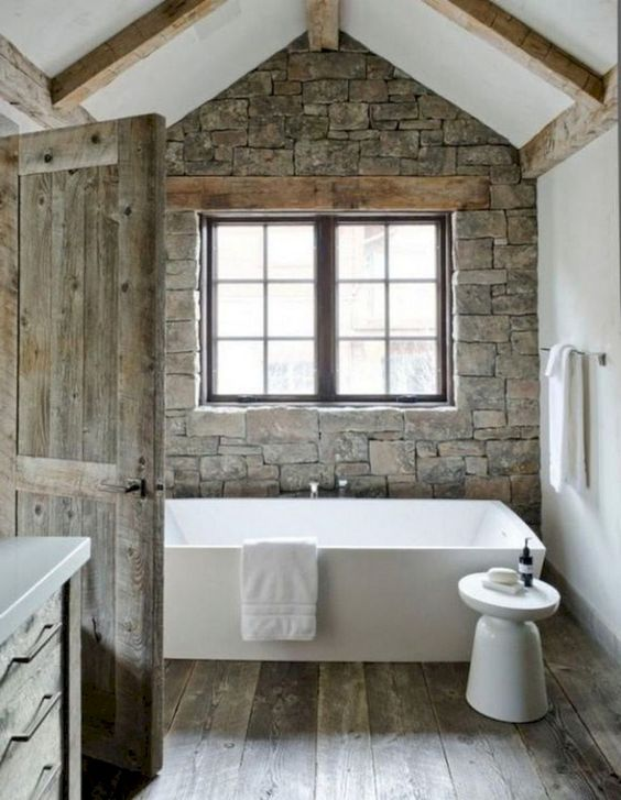 Bathroom Design Ideas: Enchanting Rustic Decor