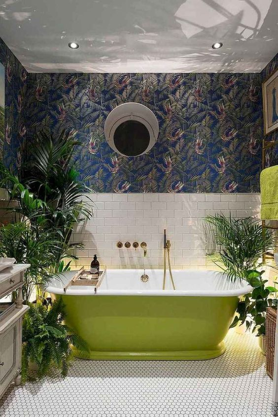 Bathroom Design Ideas: Unique Eclectic Decor