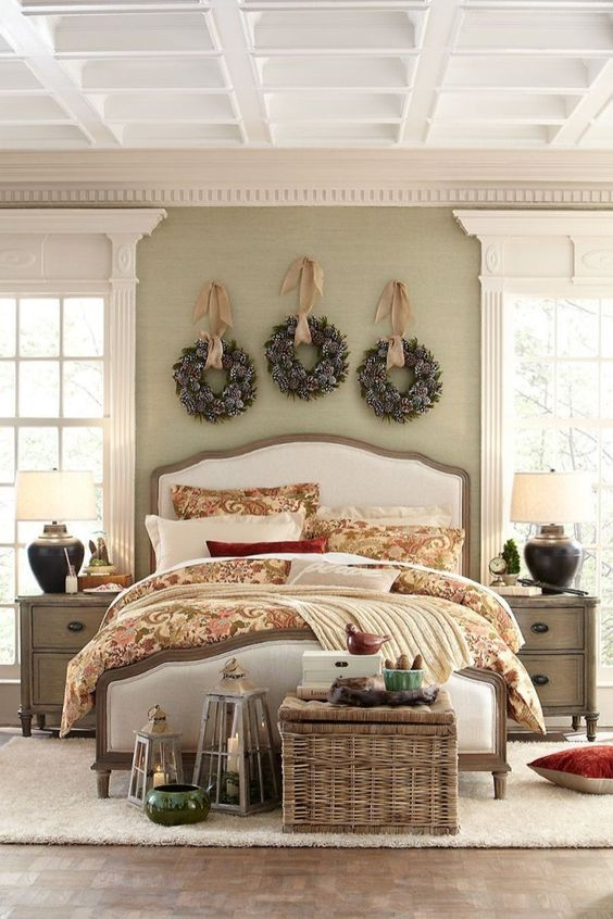 Christmas Bedroom Decor 15