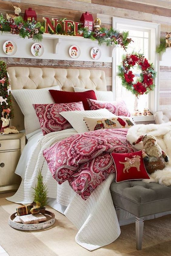 Christmas Bedroom Decor 20