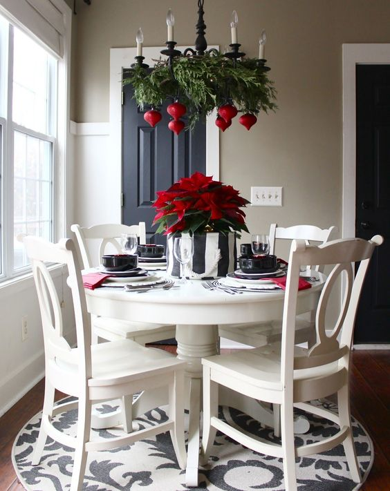 Christmas Dining Room Decor 10