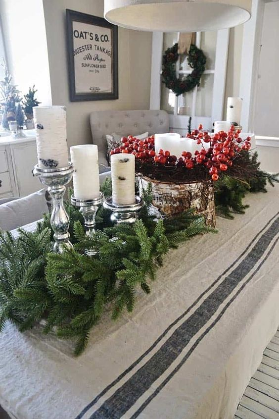 Christmas Dining Room Decor 14
