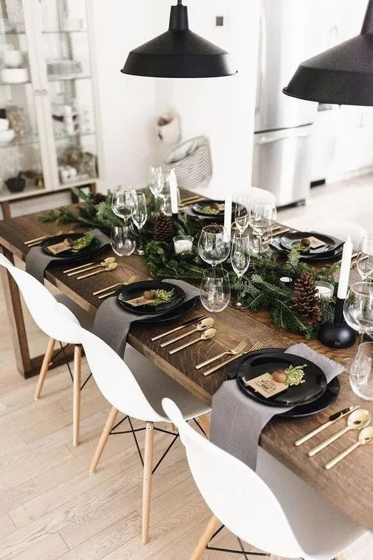 Christmas Dining Room Decor 21