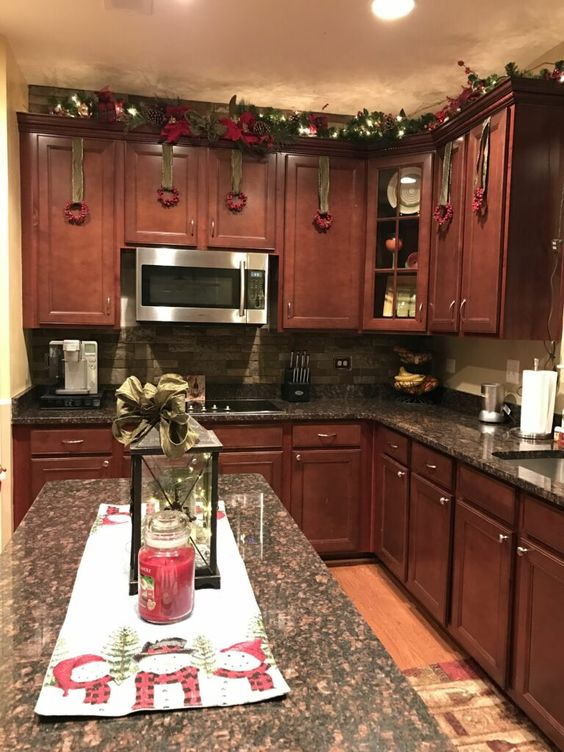 Christmas Kitchen Decorations 24