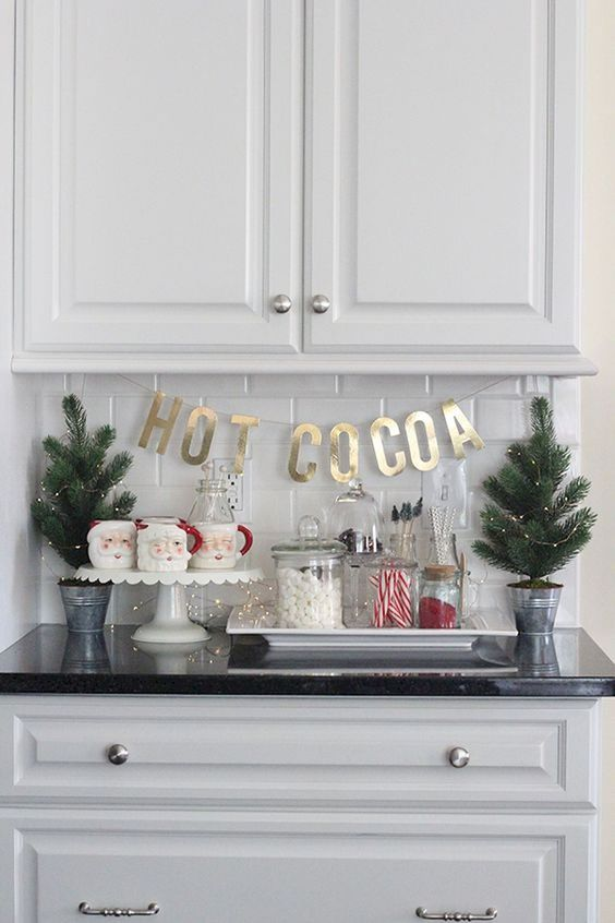 Christmas Kitchen Decorations: Catchy Cute Decor