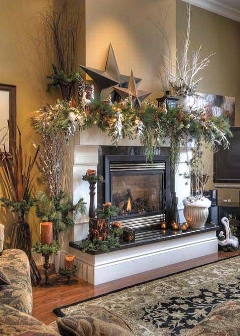 Christmas Living Room Decor 12