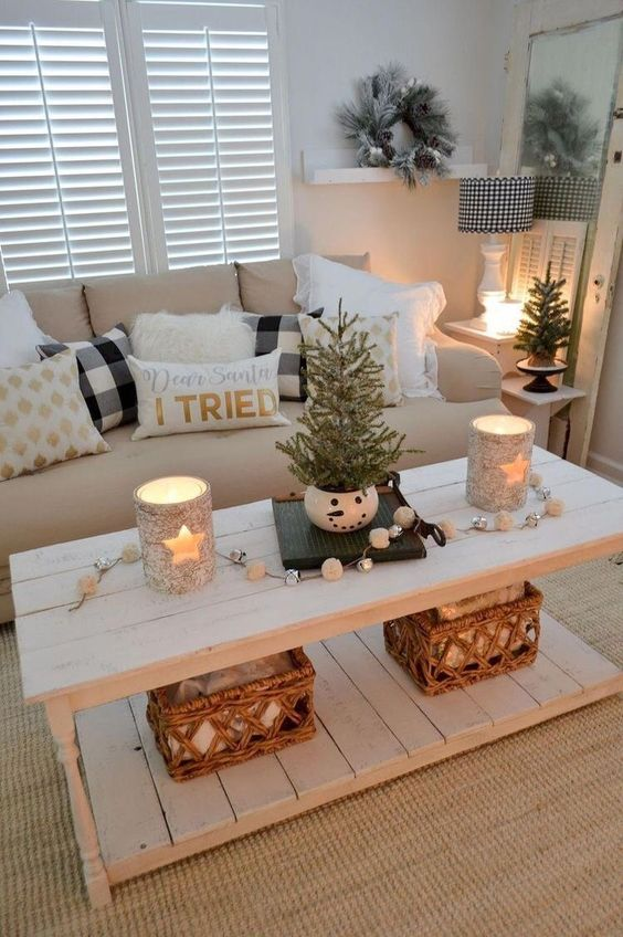 Christmas Living Room Decor 16