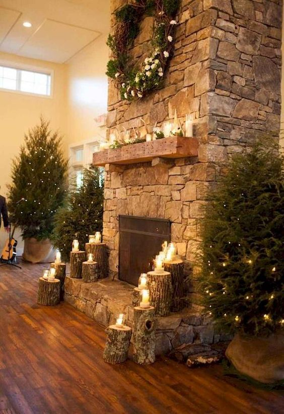 Christmas Living Room Decor 18