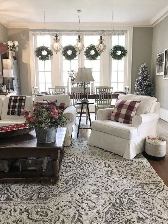 Christmas Living Room Decor 19