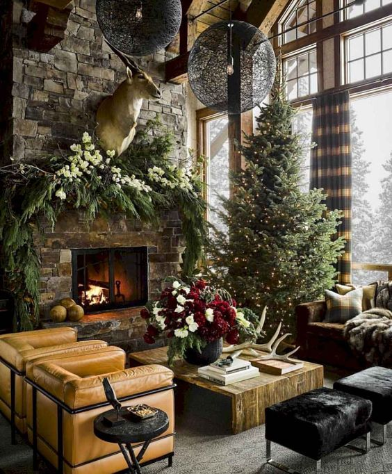 Christmas Living Room Decor 20