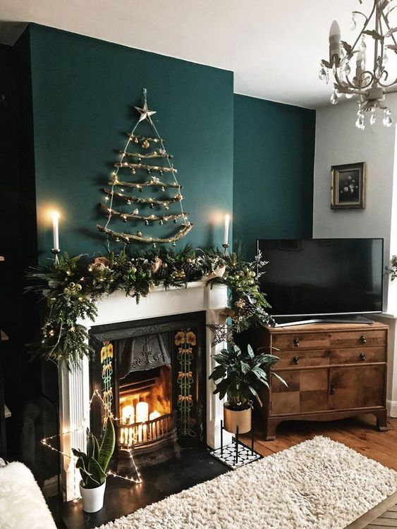 Christmas Living Room Decor 22