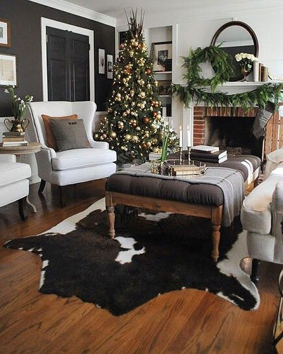 Christmas Living Room Decor 23