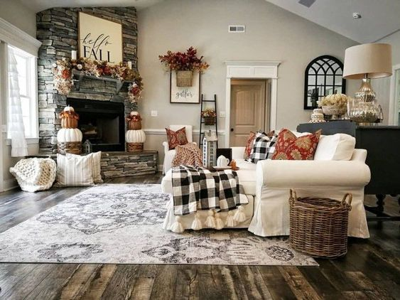 Christmas Living Room Decor 25