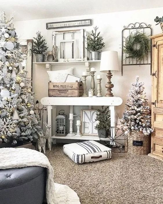 Christmas Living Room Decor 9