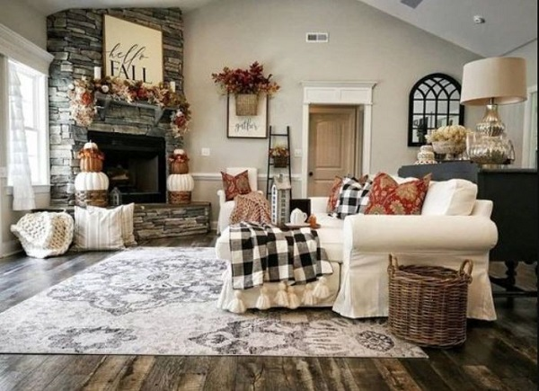 Christmas Living Room Decor feature