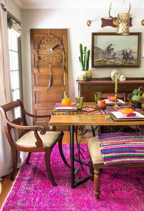 Eclectic Dining Room Ideas: Catchy Earthy Decor