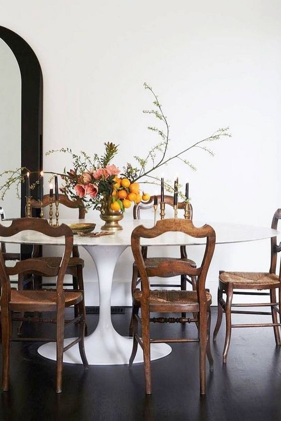 Eclectic Dining Room Ideas: Elegant Transitional Decor