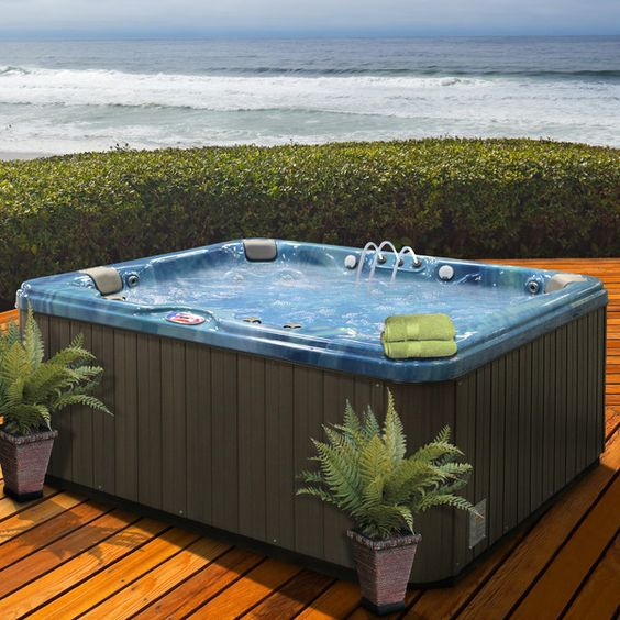 Hot Tub Backyard 12