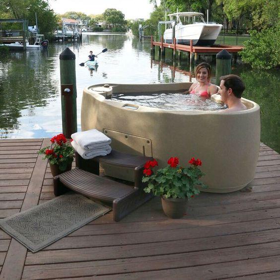 Hot Tub Backyard 14