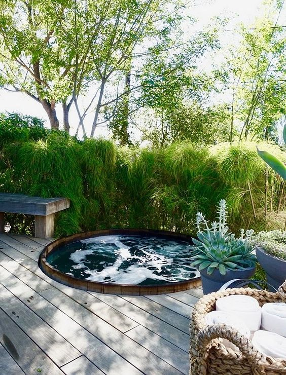 Hot Tub Backyard 16